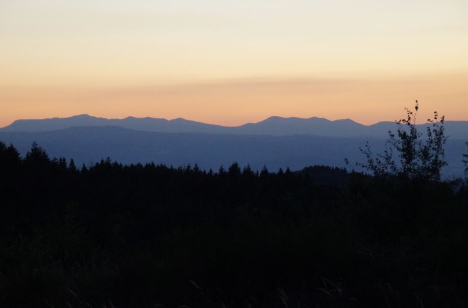 auvergne-zonsondergang