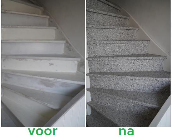 Houten Trap Ideeen : Lelijke oude trap? niet meer na deze slimme traprenovatie