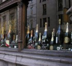 champagne etalage
